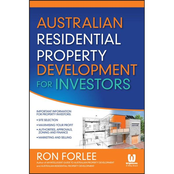 Australian Residential Property Development for Investors - Ron Forlee | 2020-eala-conference.org