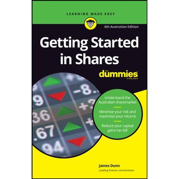 Getting Started in Shares For Dummies - James Dunn | Karta-nauczyciela.org