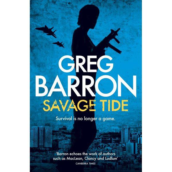 Savage Tide - Greg Barron | Karta-nauczyciela.org