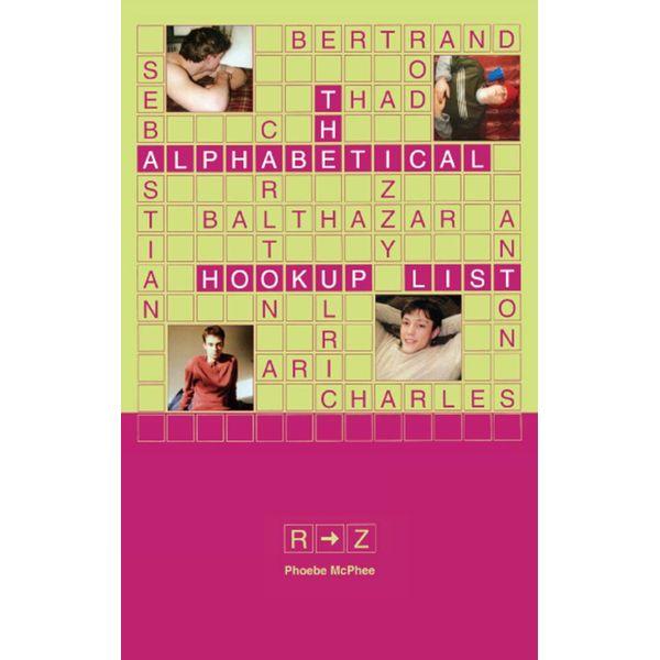 The Alphabetical Hookup List R-Z - Phoebe McPhee   Karta-nauczyciela.org