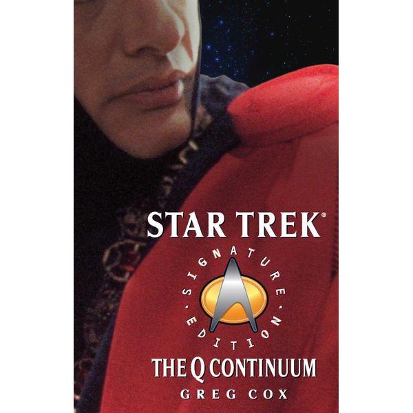 The Q Continuum - Greg Cox   Karta-nauczyciela.org