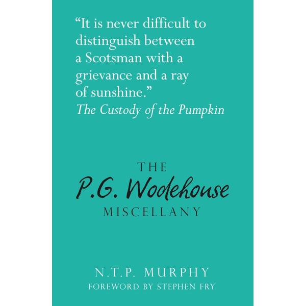 The P.G. Wodehouse Miscellany - N.T.P Murphy | Karta-nauczyciela.org