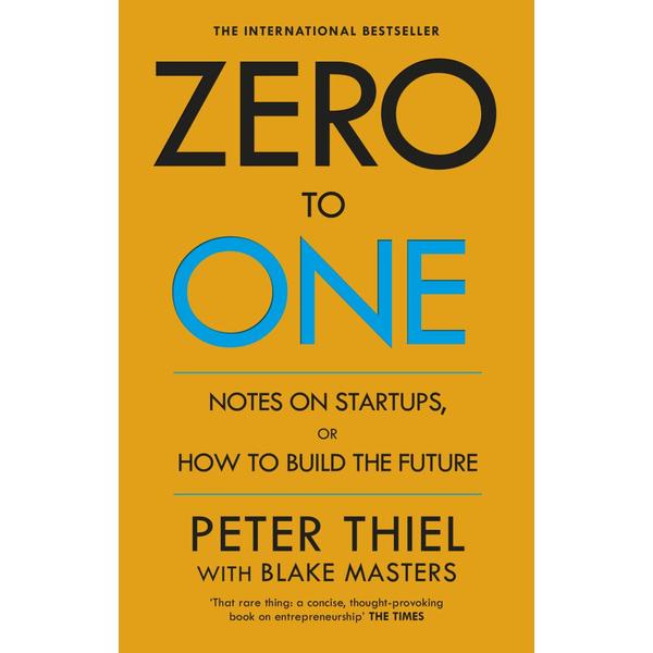 Zero to One - Blake Masters, Peter Thiel   Karta-nauczyciela.org