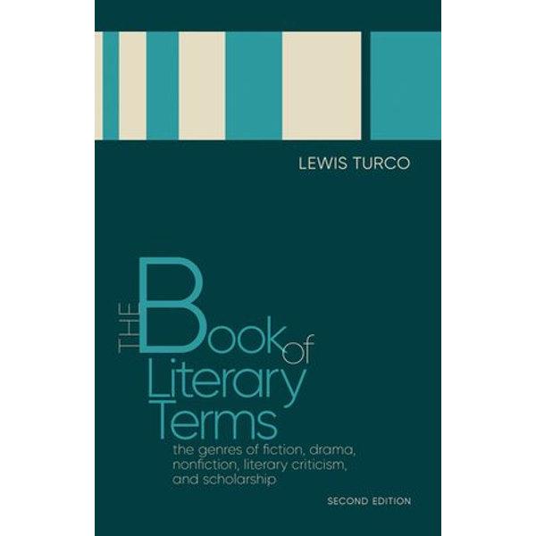 The Book of Literary Terms - Lewis Turco | Karta-nauczyciela.org