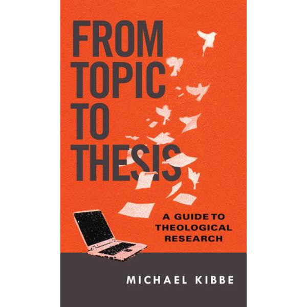 From Topic to Thesis - Michael Kibbe | Karta-nauczyciela.org