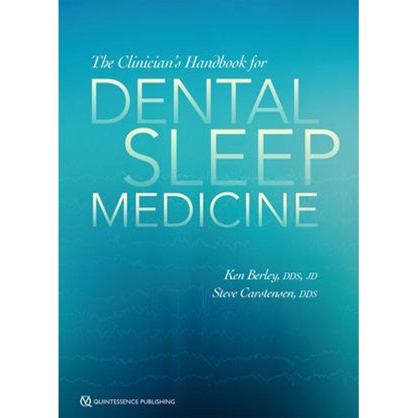 The Clinician's Handbook for Dental Sleep Medicine - Ken Berley, Steve Carstensen   Karta-nauczyciela.org