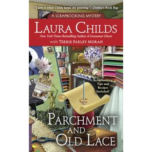 Parchment and Old Lace - Laura Childs, Terrie Farley Moran   Karta-nauczyciela.org