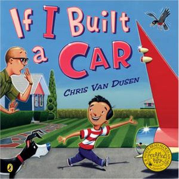 If I Built a Car - Chris Van Dusen | Karta-nauczyciela.org