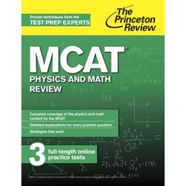 MCAT Physics and Math Review - The Princeton Review | 2020-eala-conference.org