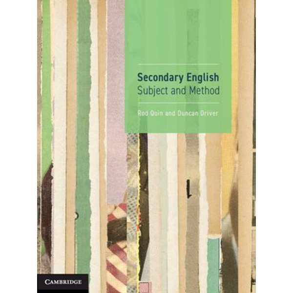 Secondary English - Rod Quin, Duncan Driver | Karta-nauczyciela.org