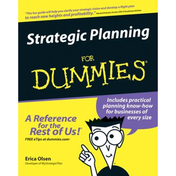 Strategic Planning For Dummies - Erica Olsen | Karta-nauczyciela.org