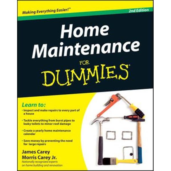 Home Maintenance For Dummies - James Carey, Morris Carey   Karta-nauczyciela.org