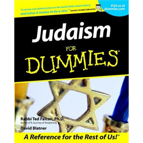 Judaism For Dummies - Rabbi Ted Falcon, David Blatner   Karta-nauczyciela.org