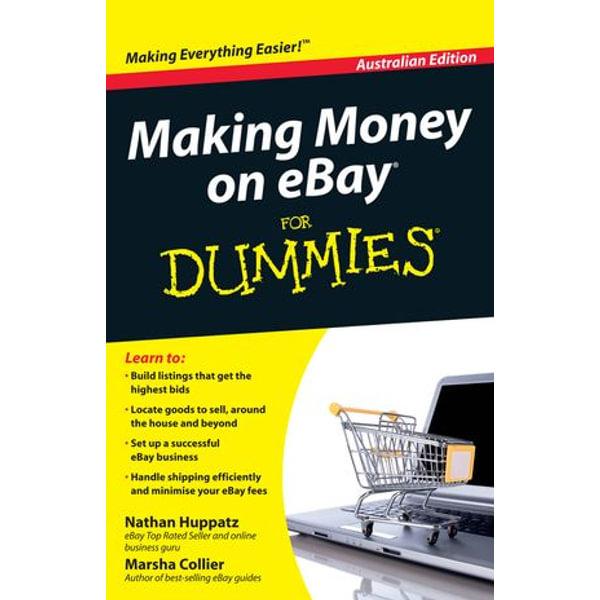 Making Money on eBay For Dummies - Nathan Huppatz, Marsha Collier | Karta-nauczyciela.org