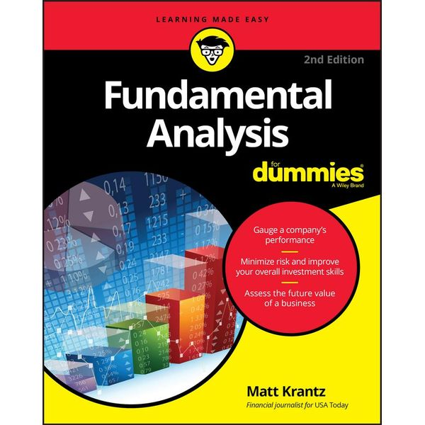 Fundamental Analysis For Dummies - Matthew Krantz | Karta-nauczyciela.org