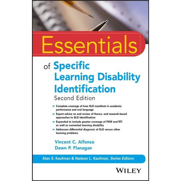 Essentials of Specific Learning Disability Identification - Vincent C. Alfonso, Dawn P. Flanagan | Karta-nauczyciela.org