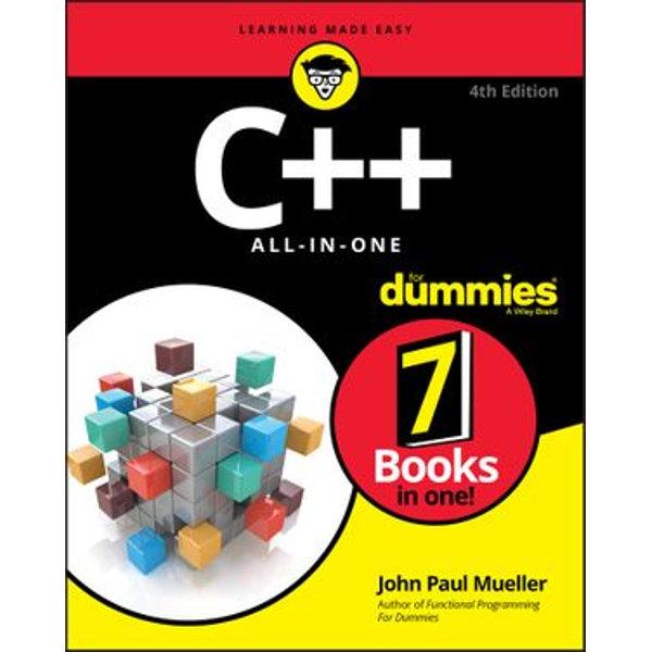 C++ All-in-One For Dummies - John Paul Mueller | Karta-nauczyciela.org