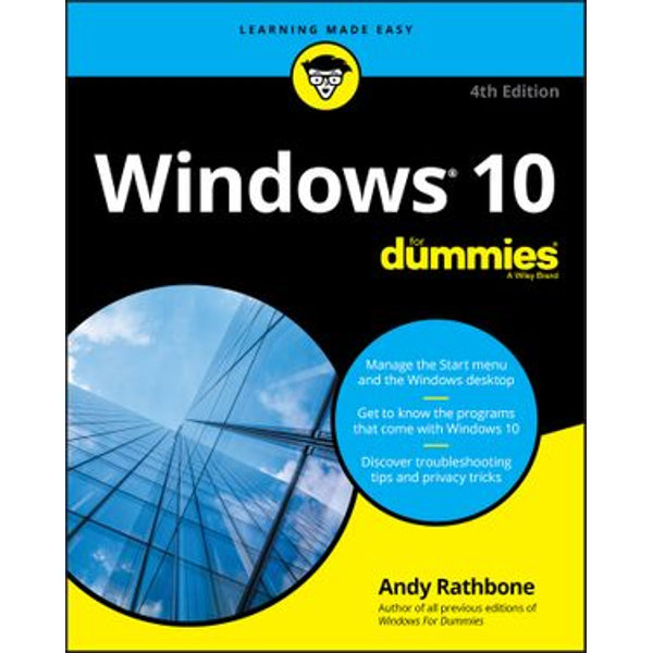 Windows 10 For Dummies - Andy Rathbone   Karta-nauczyciela.org