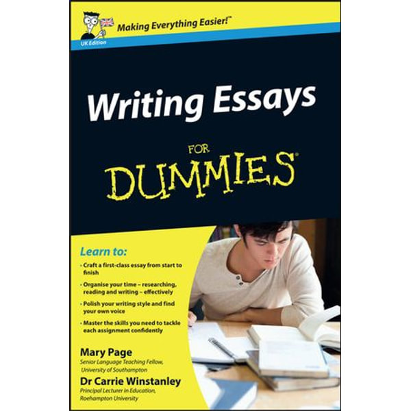 Writing Essays For Dummies - Mary Page, Carrie Winstanley | Karta-nauczyciela.org