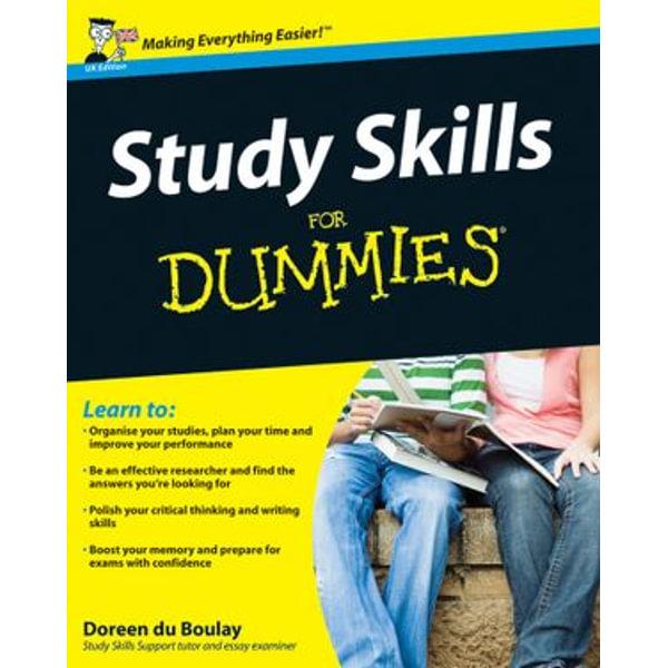 Study Skills For Dummies - Doreen du Boulay   Karta-nauczyciela.org