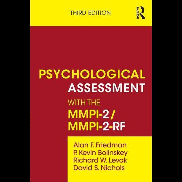 Psychological Assessment with the MMPI-2 / MMPI-2-RF - Alan F. Friedman, P. Kevin Bolinskey, Richard W. Levak, David S. Nichols | Karta-nauczyciela.org
