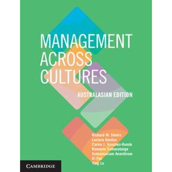 Management across Cultures - Australasian Edition - Richard Steers, Luciara Nardon, Carlos Sanchez-Runde, Ramanie Samaratunge, Ying Lu | Karta-nauczyciela.org
