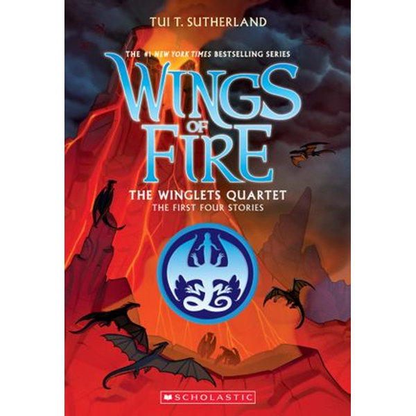 The Winglets Quartet (The First Four Stories) - Tui T. Sutherland | Karta-nauczyciela.org