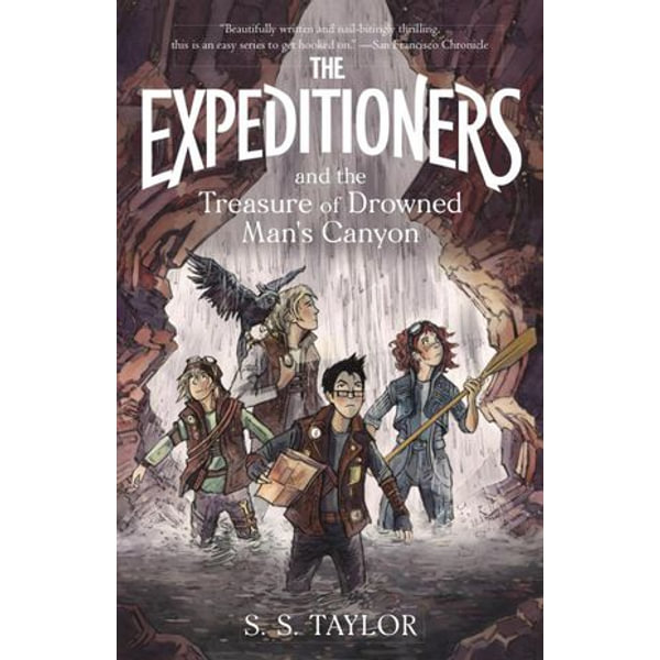 The Expeditioners and the Treasure of Drowned Man's Canyon - S. S. Taylor   Karta-nauczyciela.org