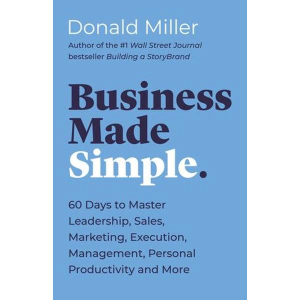 Business Made Simple - Donald Miller   Karta-nauczyciela.org