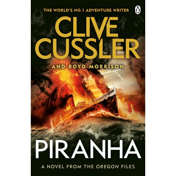 Piranha - Clive Cussler, Boyd Morrison   Karta-nauczyciela.org