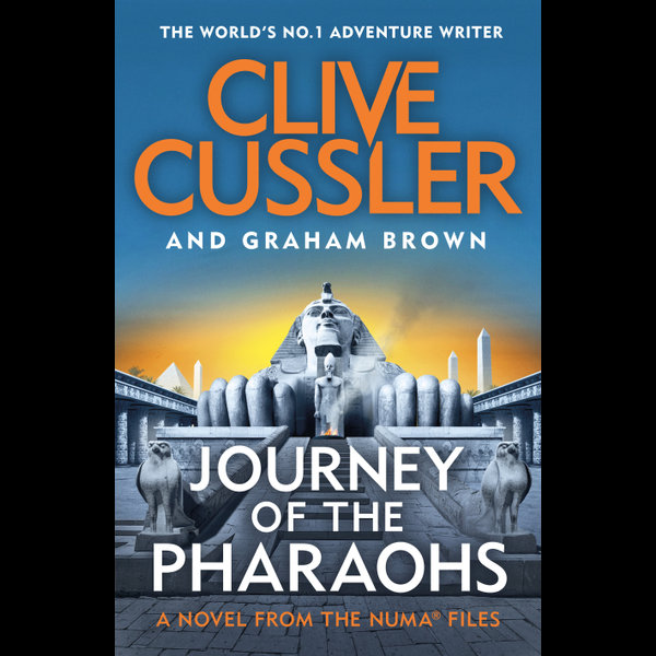 Journey of the Pharaohs - Clive Cussler, Graham Brown   Karta-nauczyciela.org