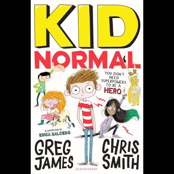 Kid Normal - Mr Greg James, Chris Smith, Erica Salcedo (Illustrator)   Karta-nauczyciela.org