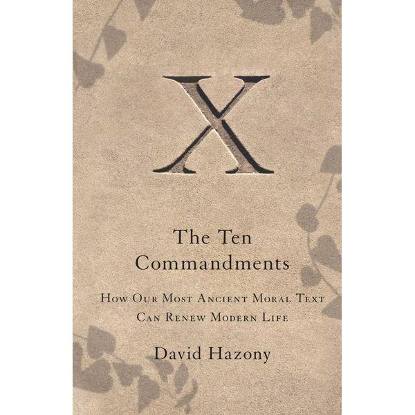 The Ten Commandments - David Hazony | Karta-nauczyciela.org