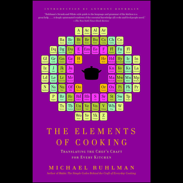 The Elements of Cooking - Michael Ruhlman, Anthony Bourdain (Introduction by)   Karta-nauczyciela.org