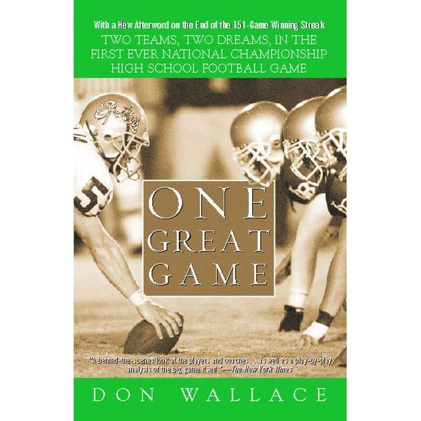 One Great Game - Don Wallace   Karta-nauczyciela.org
