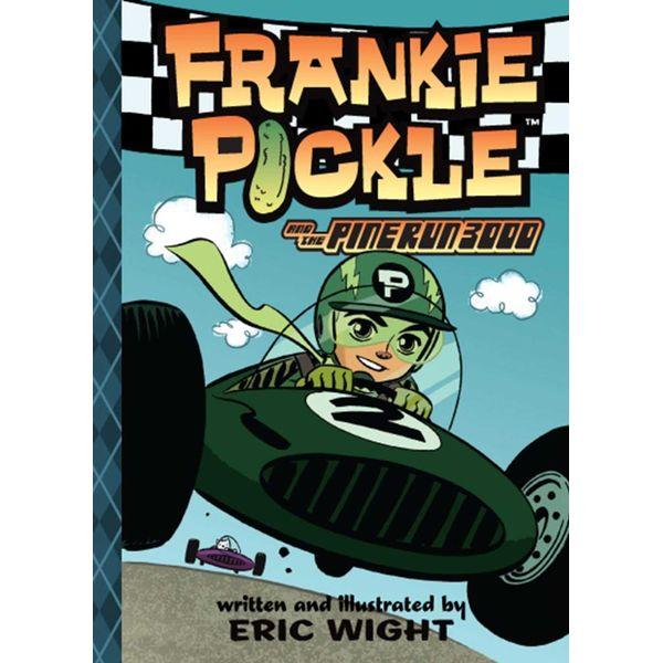 Frankie Pickle and the Pine Run 3000 - Eric Wight   Karta-nauczyciela.org