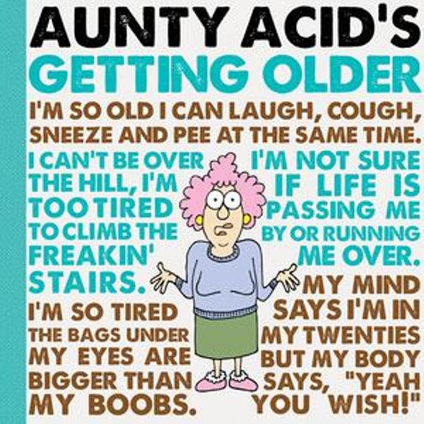 Aunty Acid's Getting Older - Ged Backland   Karta-nauczyciela.org