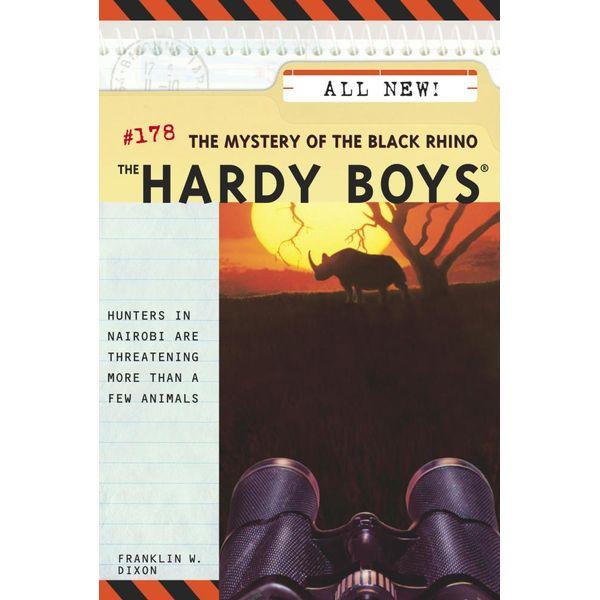 The Mystery of the Black Rhino - Franklin W. Dixon   Karta-nauczyciela.org