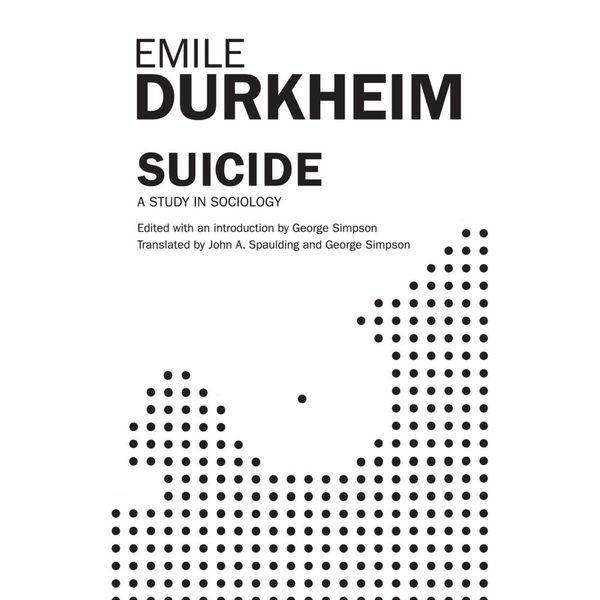Suicide - John A. Spaulding, George Simpson, Emile Durkheim   Karta-nauczyciela.org