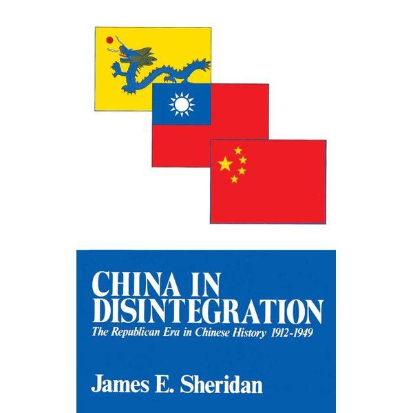 China in Disintegration - James E. Sheridan   Karta-nauczyciela.org