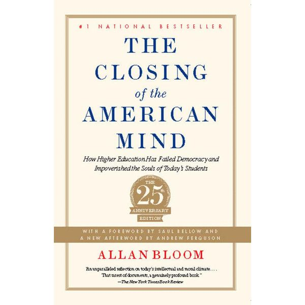 Closing of the American Mind - Allan Bloom   Karta-nauczyciela.org