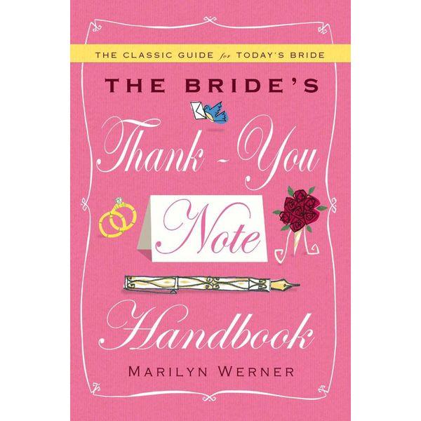 The Bride's Thank-You Note Handbook - Marilyn Werner   Karta-nauczyciela.org