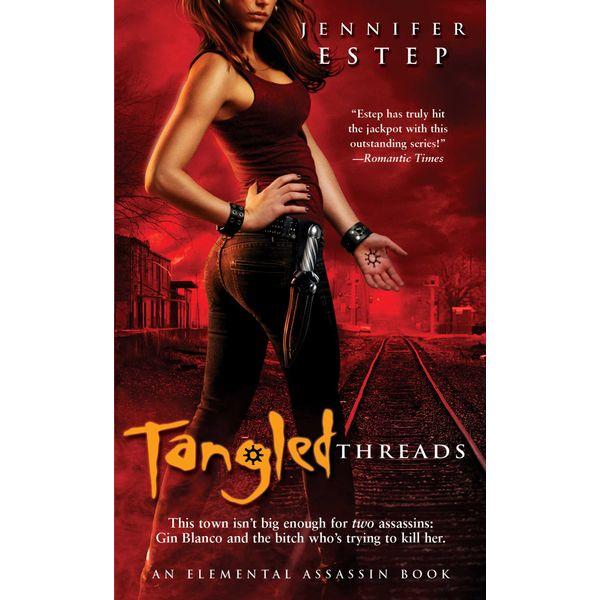 Tangled Threads - Jennifer Estep   Karta-nauczyciela.org
