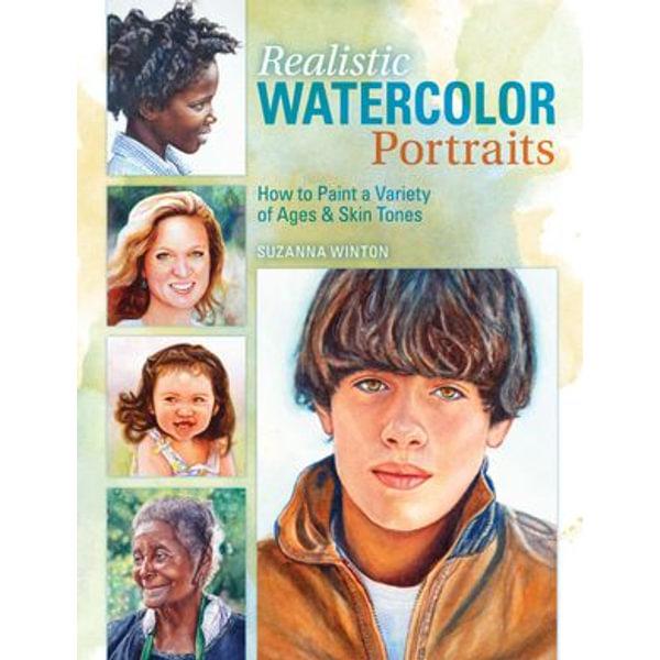 Realistic Watercolor Portraits - Suzanna Winton   Karta-nauczyciela.org