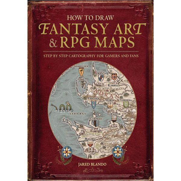 How to Draw Fantasy Art and RPG Maps - Jared Blando | Karta-nauczyciela.org