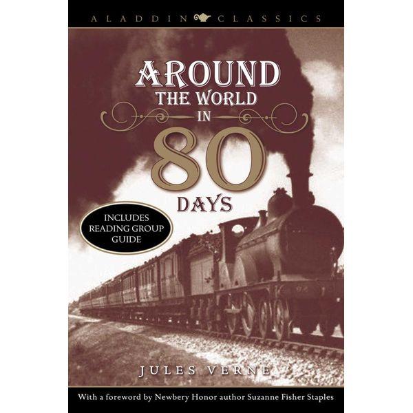 Around the World in 80 Days - Jules Verne, Laurence Yep (Foreword by) | Karta-nauczyciela.org