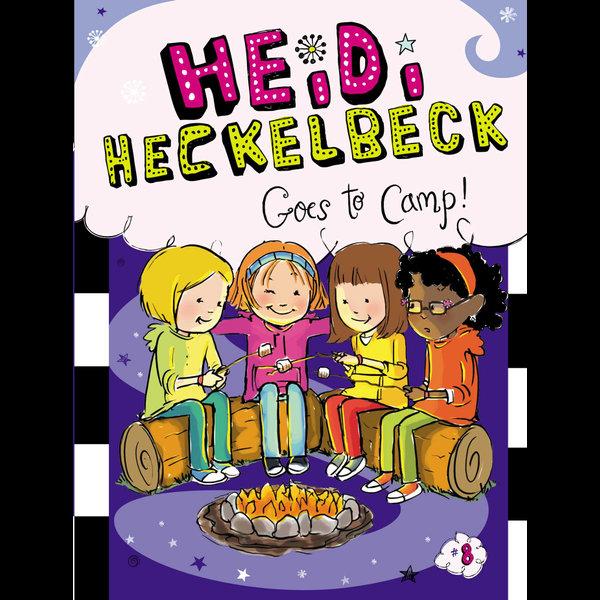 Heidi Heckelbeck Goes to Camp! - Wanda Coven, Priscilla Burris (Illustrator)   Karta-nauczyciela.org
