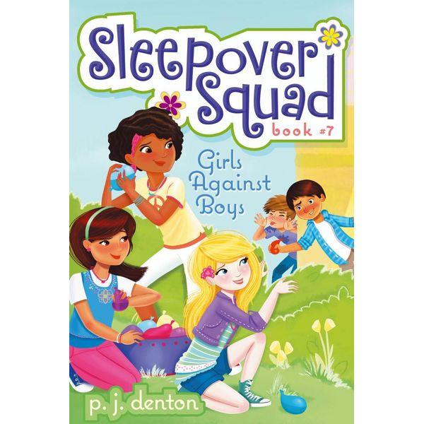 Girls Against Boys - P. J. Denton, Julia Denos (Illustrator) | Karta-nauczyciela.org