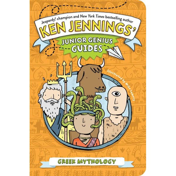 Greek Mythology - Ken Jennings, Mike Lowery (Illustrator) | 2020-eala-conference.org