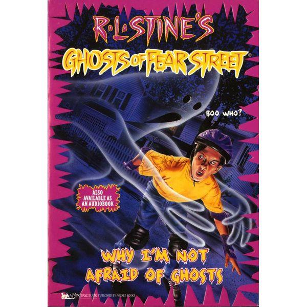 Why I'm Not Afraid of Ghosts - R.L. Stine   Karta-nauczyciela.org